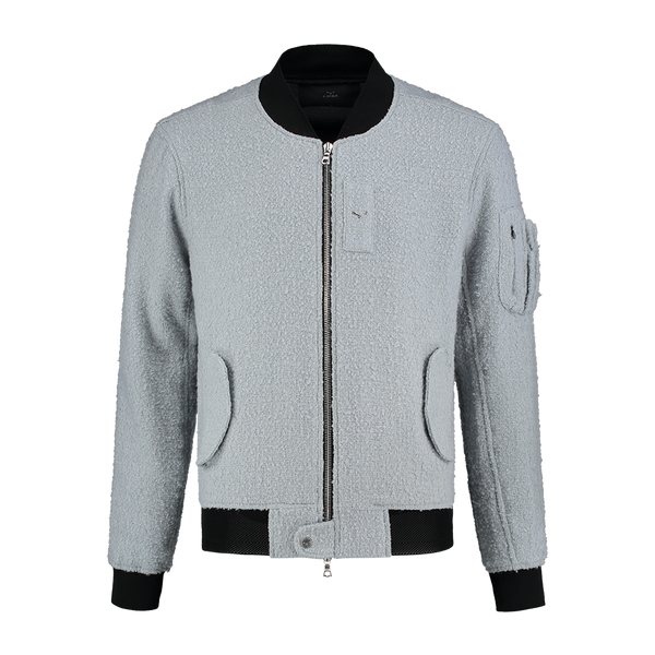 Essential Wool Bomber Jacket