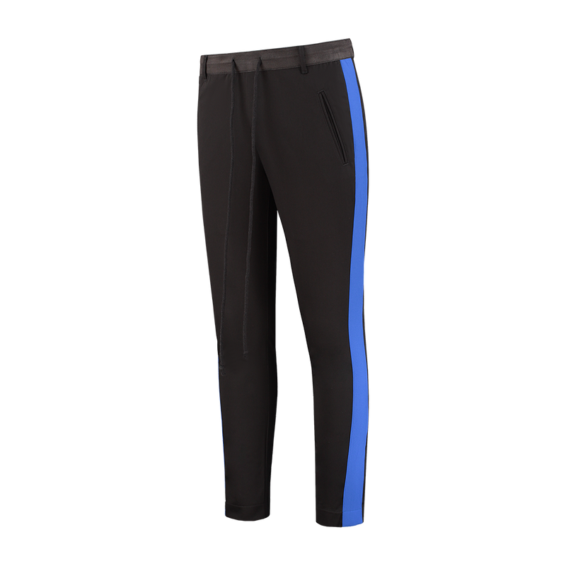 Striped Trousers - Royal Blue
