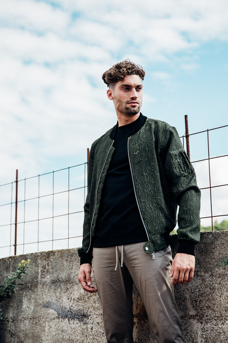 Essential Bomber Jacket - Green