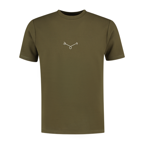 Big Arrow T-shirt - Army Green
