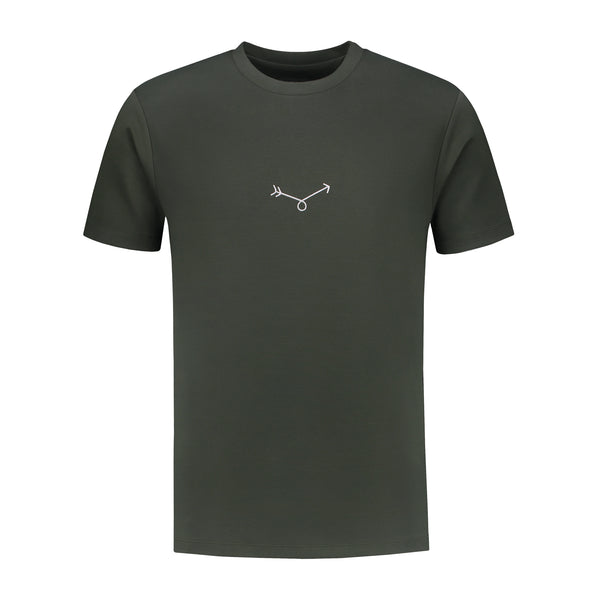 Arrow T-shirt - Dark Green