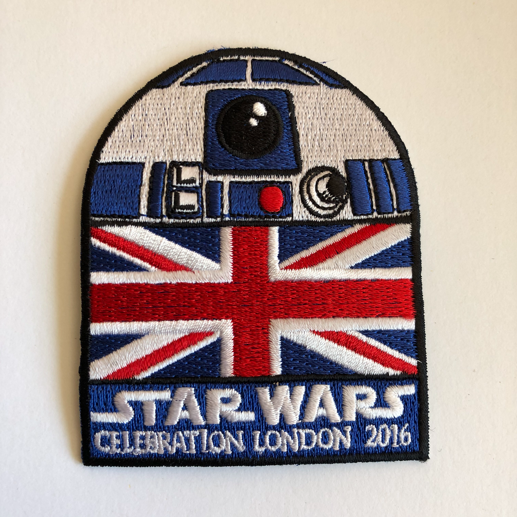 Star Wars Celebration London 2016 Patch