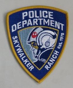Skywalker Ranch Police Patch