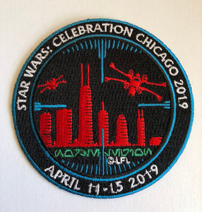 Star Wars Celebration Chicago Skyline Patch