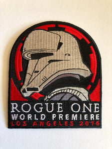 Rogue One world Premiere patch