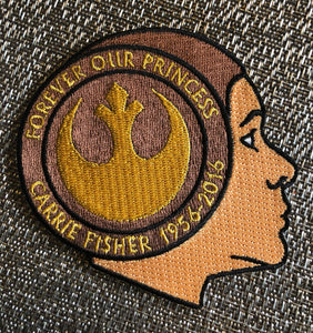 "Carrie Fisher ""Forever Our Princess"" Patch"