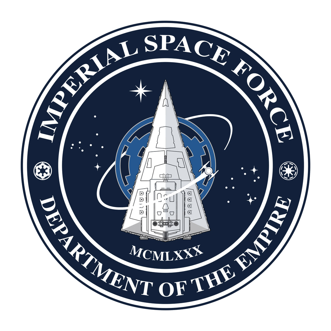 IMPERIAL SPACE FORCE Sticker