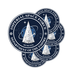 IMPERIAL SPACE FORCE 5 Sticker Set
