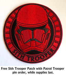 Patrol Trooper Pin