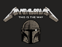 Load image into Gallery viewer, Mandalorian T-shirt
