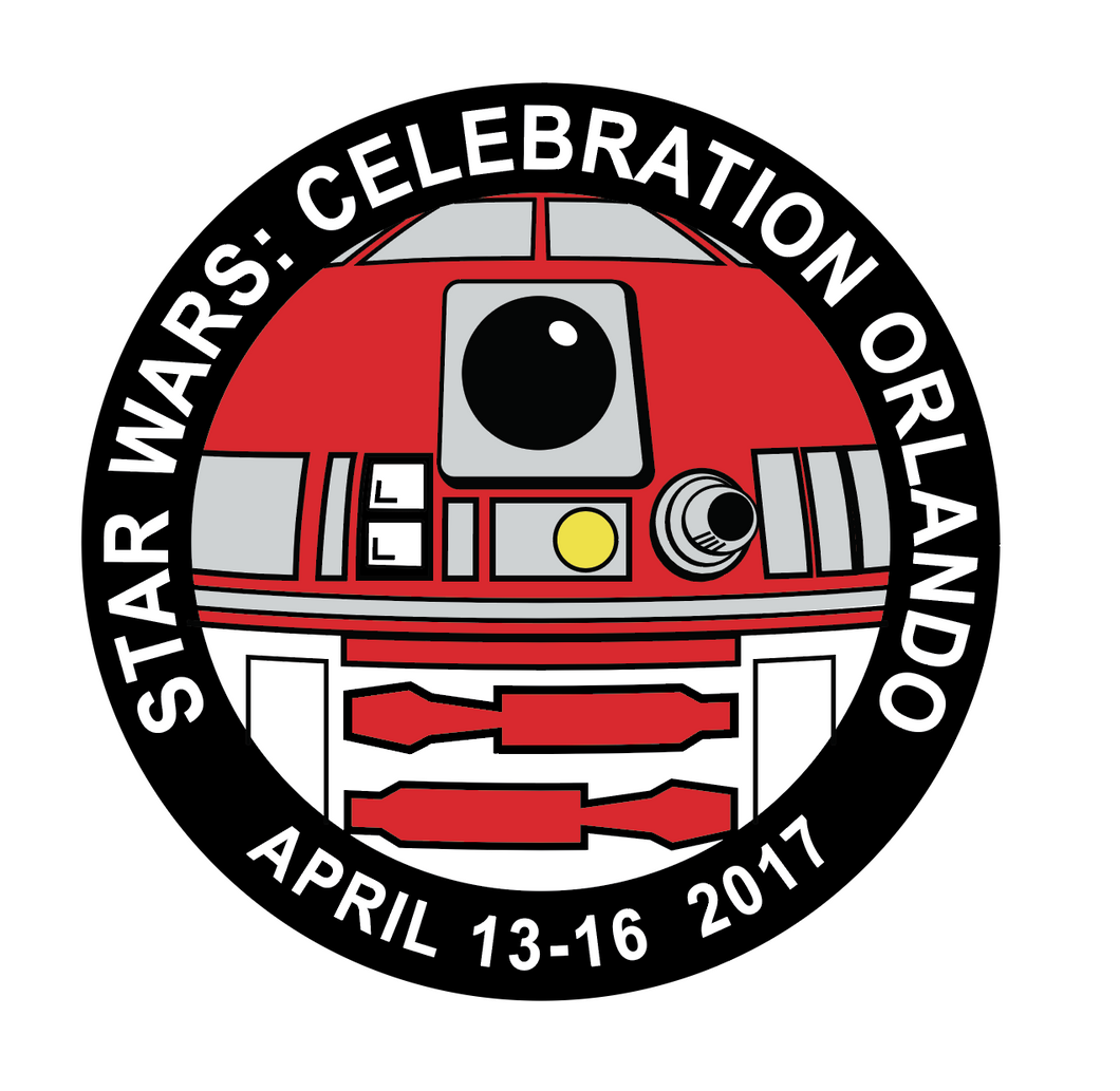 R2-A3 Star Wars Celebration Pin