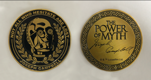 """Power Of Myth"" C-3PO, Joseph Campbell coin"
