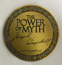 "Load image into Gallery viewer, ""Power Of Myth"" Boba Fett, Joseph Campbell coin"