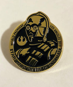 Star Wars: The Rise OF Skywalker World Premiere Pin