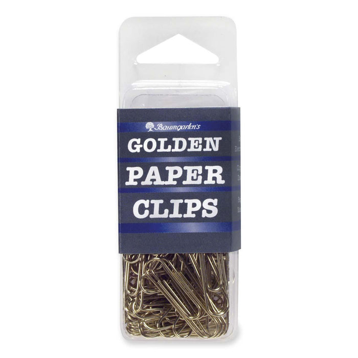 Gold Paper Clips -100 pack - Supplies by Teachers