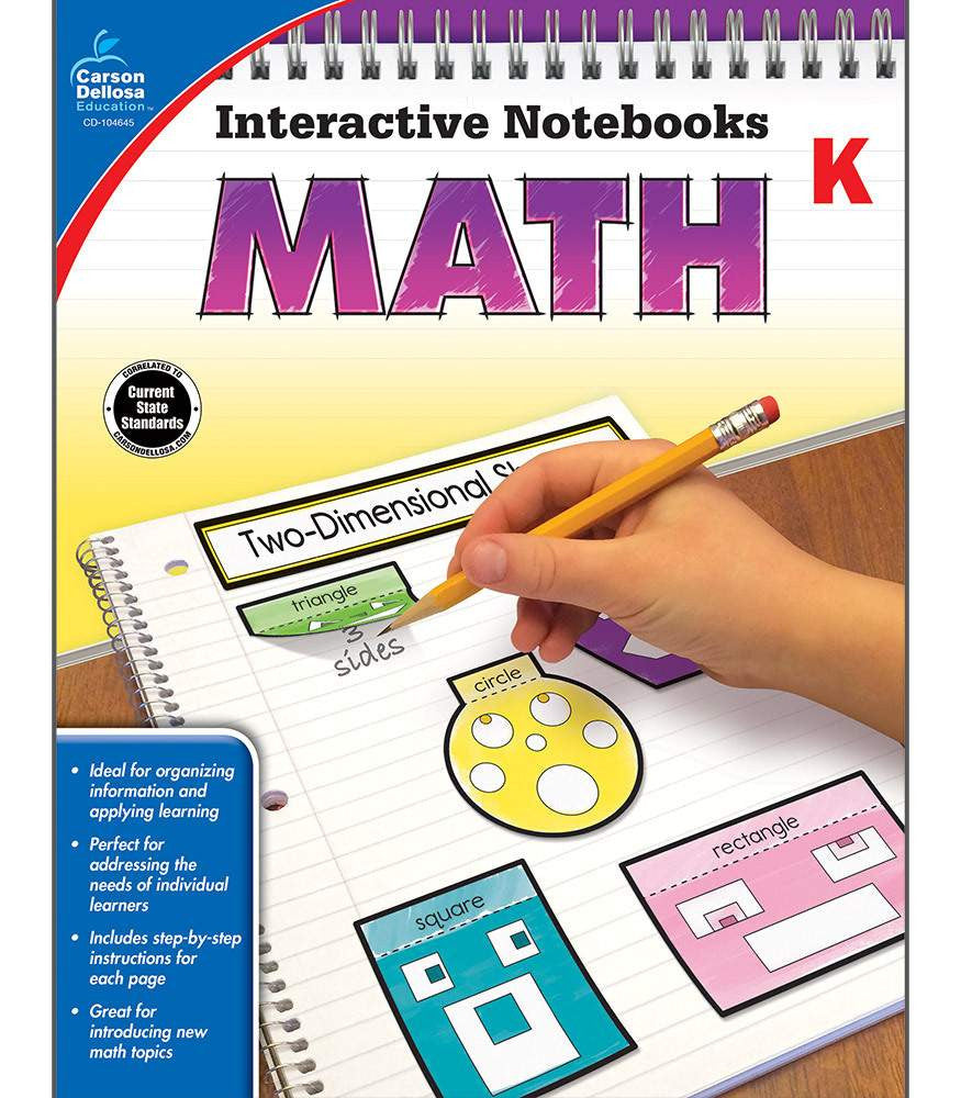 Interactive Notebooks: Math Resource Book Kindergarten