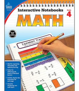 Interactive Notebooks: Math Resource Book Fourth Grade