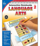 Interactive Notebooks: Language Arts Resource Book Second Grade