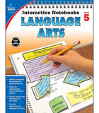 Interactive Notebooks: Language Arts Resource Book Fifth Grade