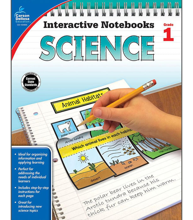Interactive Notebooks: Science Resource Book First Grade - Supplies by Teachers