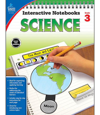 Interactive Notebooks: Science Resource Book Third Grade