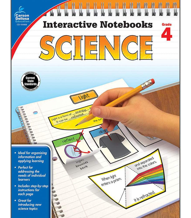 Interactive Notebooks: Science Resource Book Fourth Grade - Supplies by Teachers
