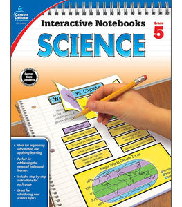 Interactive Notebooks: Science Resource Book 5th Grade - Supplies by Teachers