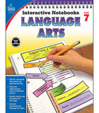Interactive Notebooks: Language Arts Resource Book Seventh Grade