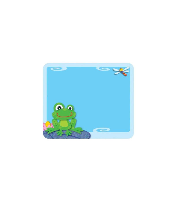 Funky Frogs Name Tags - Supplies by Teachers