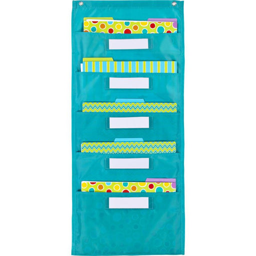 File Folder Storage 5 Pocket Chart - Supplies by Teachers