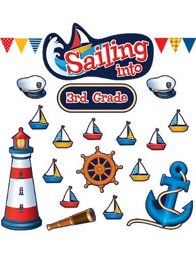 Sailing Into.. Bulletin Board - Supplies by Teachers