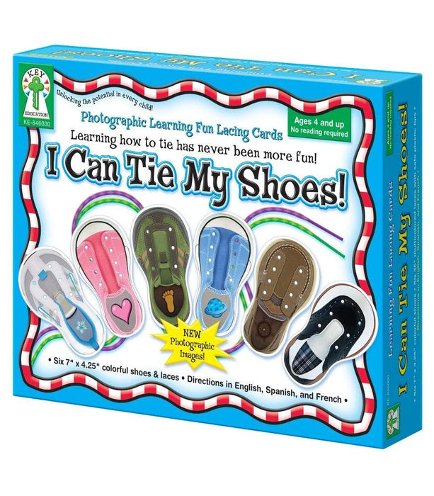 I Can Tie My Shoes Lacing Cards - Supplies by Teachers