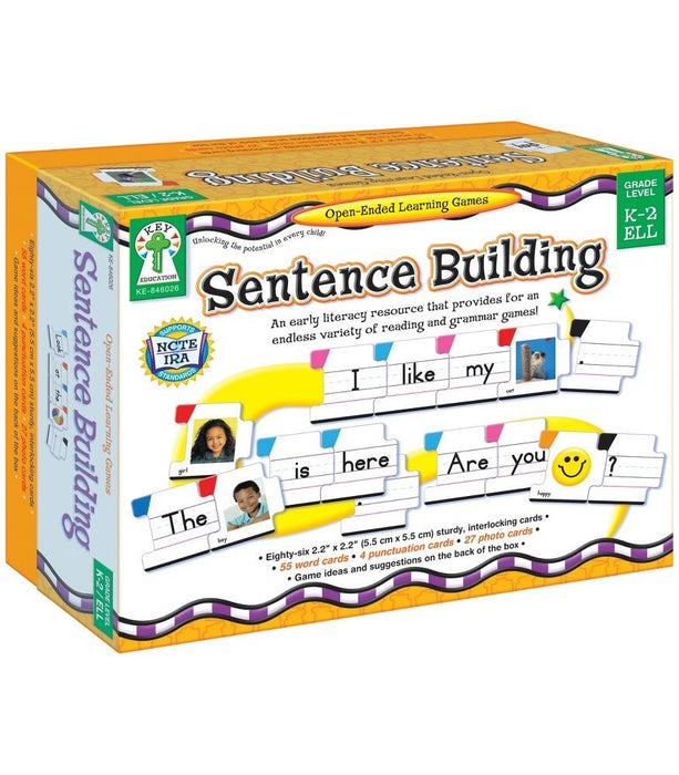 Sentence Building Board Games - Supplies by Teachers