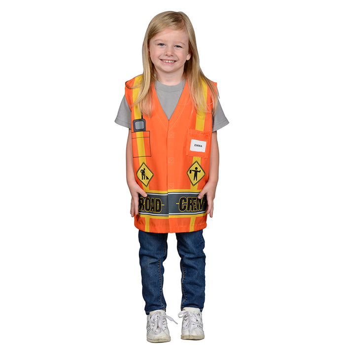 My 1st Career Gear Road Crew Top One Size Fits Most Ages 3-6