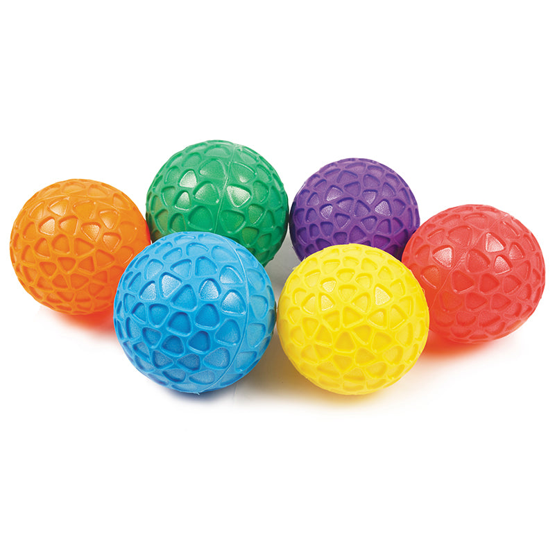 Easy Grip Ball Set 8in Set Of 6