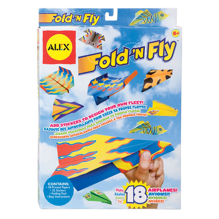 Fold N Fly Paper Airplanes - Supplies by Teachers