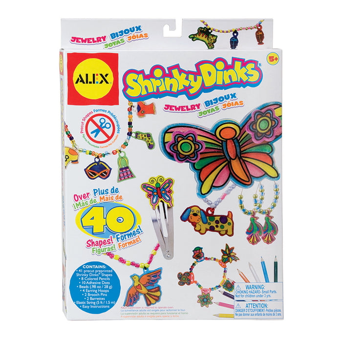 Shrinky Dinks Jewelry - Supplies by Teachers