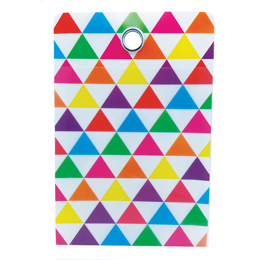 Smart Poly Folder Triangle 4x6 10pk