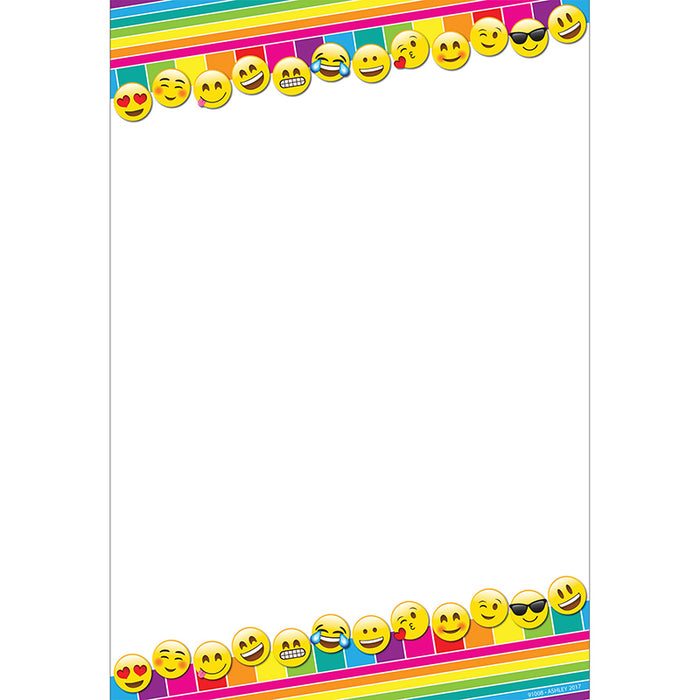Emoji Blank Smart Poly 13x19 Chart - Supplies by Teachers