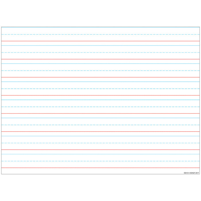 Handwriting 3/4 Lined 17x22 Smart Poly Chart - Supplies by Teachers