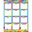 Fr Bday Chalkboard Dry Erase Gl 45smart Chart Surface 17x22 - Supplies by Teachers