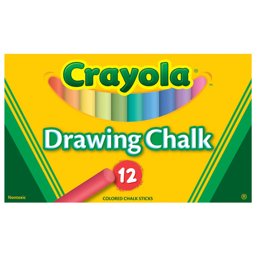 Crayola Colored Drawing Chalk Asst - Supplies by Teachers