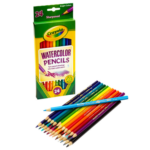 Crayola Watercolor Pencils 24 Color - Supplies by Teachers