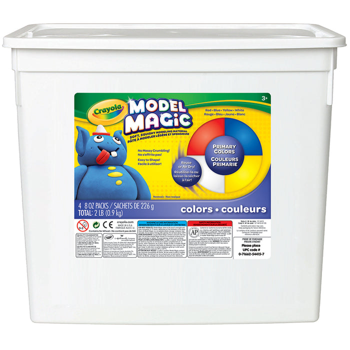 Model Magic 2lb Bucket Assorted - Supplies by Teachers