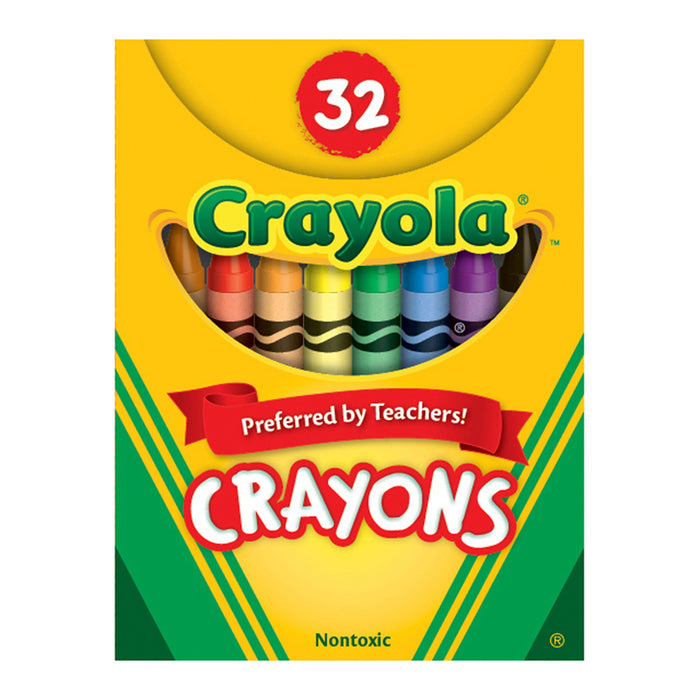 Crayola Crayons 32ct Tuck Box - Supplies by Teachers