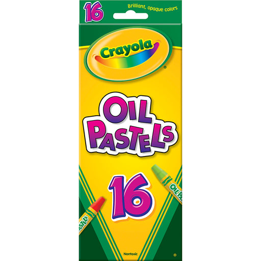 Crayola Oil Pastels 16 Color Set - Supplies by Teachers