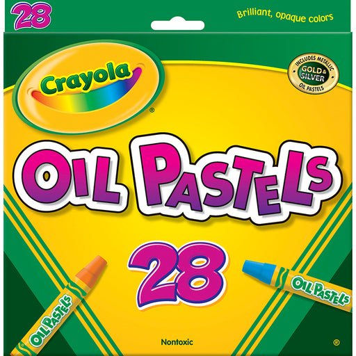 Crayola Oil Pastels 28 Color Set - Supplies by Teachers