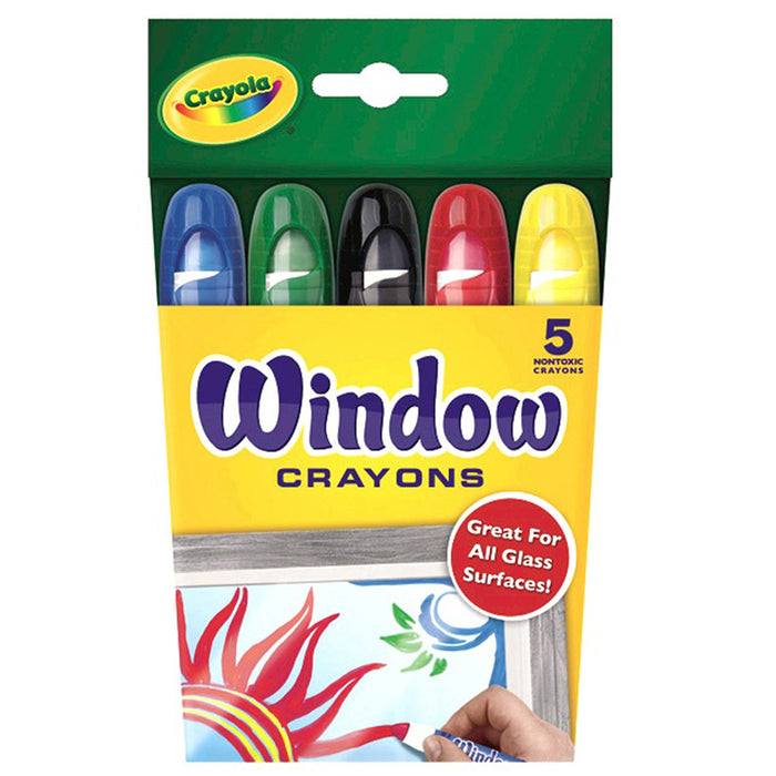 Crayola Washable Window Crayons - Supplies by Teachers