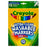 Crayola Washable Markers 12ct Asst Colors Fine Tip - Supplies by Teachers