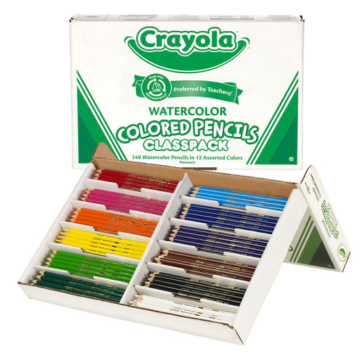 Crayola Watercolor Pencil 240 Ct Classpack - Supplies by Teachers